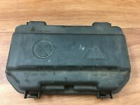 BMW 116d 1 Series F20 N47TU D20C genuine fuse box cover lid 6114 9224872