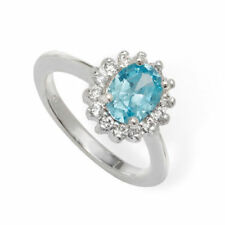 Unbranded Cubic Zirconia Blue Fine Rings