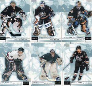 2002-03 UD Mask Collection Complete Set #1-90