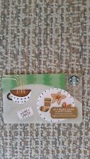 """STARBUCKS Holiday Gift Card """"Hot Coco & Cookies"""" 2017 - USA - no value"""