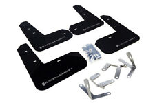 Rally Armor Mud Flaps Silver logo for 2013+ BRZ/FR-S # MF23-UR-BLK/SIL