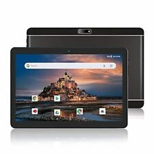 Android Phone Tablet 10 Inch, 3G Unlocked Phablet with Dual SIM Card Slots and C