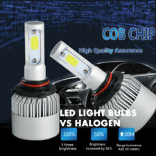 9005 HB3 2600W 390000LM LED Hi/Lo Beam Headlight Conversion Kit 6000K White Bulb