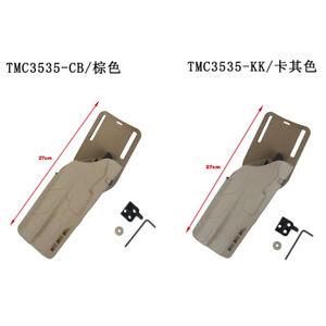 TMC3535 Belt Adapter Drop Holster Carrier X300 Light Pouch for G17/G19 CB/KK/BK