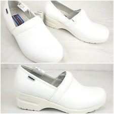 NWT Cherokee Women's  Harmony Workwear Step-in Padded Nursing Leather Shoe SZ8.5