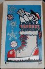 Jim Pollock Quarantine Season Linocut Print Signed /145 Phish Art Poster Holiday