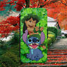DISNEY/LILO AND STITCH/OHANA/FLIP WALLET PHONE CASE FOR IPHONE/SAMSUNG/HUAWEI