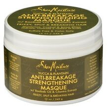 SHEA MOISTURE YUCCA & PLANTAIN ANTI-BREAKAGE STRENGTHENING MASQUE 340 GM