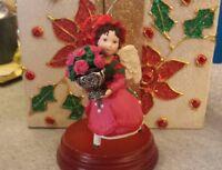 1999 Hallmark Keepsake Ornament, Rose Angel, Language Of Flowers, PT2
