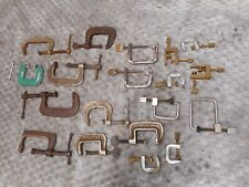 Vintage Luthier's Metal C Clamps For Guitar Building Parts