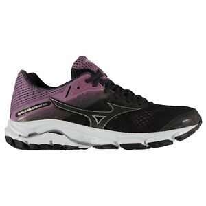 Mizuno Wave Inspire 15 Womens Running Shoes Trainers Blue Athleisure Sneakers