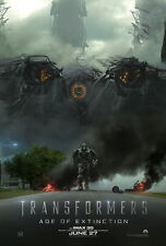 "014 Transformers 4 Age of Extinction - 2014 Hot Movie Film 14""x21"" Poster"