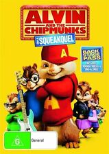 Alvin And The Chipmunks - The Squeakquel (DVD, 2010) brand new and sealed