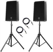 "2 x ELECTROVOICE ZLX12P 2 VIE 1000 W 12"" alimentato Altoparlante DJ Disco PA Sound System"