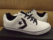 Converse Convers EL Distrito OX Men's Shoes Size 12 White/Black 155066C (NEW)