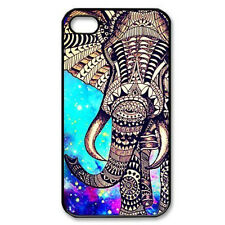 Durable Generic Elephant Aztec Hard Back Phone Cover Case Skin For iPhone 4 4S