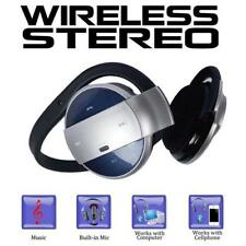 Universal Bluetooth Stereo Headset Sh52 w/ Free Wall and Car Charger