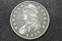 1818/7 Small 8 Capped Bust Half, O-102 R2 Choice Very Fine