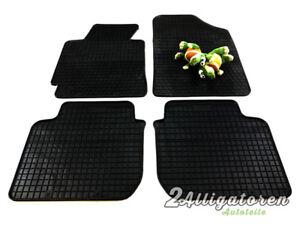 4 x Gummi-Fußmatten ☔ für HYUNDAI Elantra V seitdem 2011