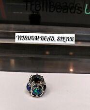 Trollbeads Original Since 1976 Authentic TAGBE-00114  Wisdom Bead, Silver