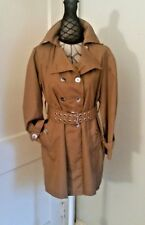 Vintage 70s Dbl Breasted Mini Trench Coat Women's sz S-M