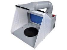 Cabina de aerosol Portable Arte Aerografía Kit de pintura de Filtro de Manguera de Extracción Extractor