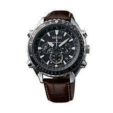 Relojes de pulsera Seiko de acero inoxidable de día y fecha