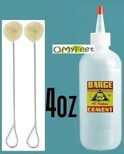 4oz Barge ORIGINAL Contact Cement Glue Shoe repair Dauber Cap DC031 Leather