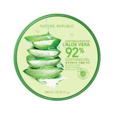 [Nature Republic] Soothing Moisture Aloe Vera 92% Soothing Gel 300ml