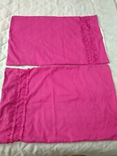 2 Pillow Case Covers pink fuchsia by Richmond House
