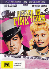 HELLER IN PINK TIGHTS Sophia Loren DVD R4 - PAL - New