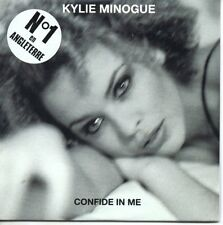 CD SINGLE Kylie MINOGUE Confide in me 2-Tr CARD SLEEVE French NEW SEALED Sticker