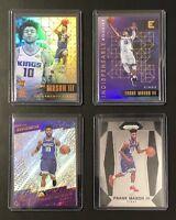 Frank Mason III Rookie LOT 2017 Sacramento Kings Break NBA Basketball Cards 4PC