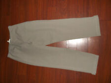 EILEEN FISHER TAUPE TWILL STRETCH SIDE ZIP PANTS SZ PS  PETITE  S