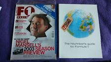 F1 Racing Magazine: March 2003, with 44-page travel guide. FREE P&P