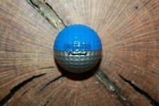 VINTAGE SILVER AND BLUE PING PROMOTIONAL GOLF BALL MUST SEE!!!! SUPER RARE!!!!!!