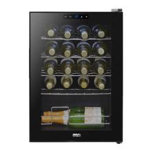 Baridi 20 Bottle Wine Cooler, Fridge, Touch Screen, LED, Low Energy A, Black NEW