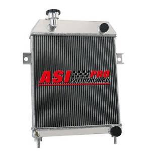3 ROW ALUMINUM RADIATOR For 62-67 JAGUAR MARK 2 MK2 MK II DAIMLER 2.5 V8/V8 250