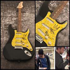 GFA Dan Reynolds x3 Band * IMAGINE DRAGONS * Signed Electric Guitar PROOF COA