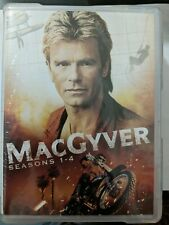 MacGyver Seasons 1-4 Dvd Richard Dean Anderson new