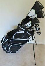 Tall Mens Golf Club Set Driver 3 Wood 3 4 5 Hybrids Irons Putter SW Reg Flex