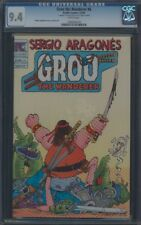 GROO THE WANDERER (1982) #6 CGC 9.4 NM WP REMARK AND SIGNATURE ON 1ST PAGE