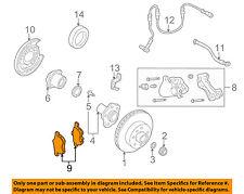Infiniti NISSAN OEM 95-06 Q45 Brake-Rear Pads 44060AR085