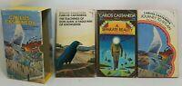 Lot of 3 Carlos Castaneda PB Books w Slipcase Don Juan Reality Ixtlan A415