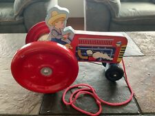 SCHYLLING TOY PULL TRACTOR 2000 ITEM #3718-30