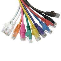 Cat5e Ethernet RJ45 Network LAN Cable Lead Short or Long Wholesale