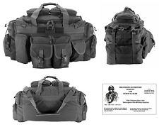 ONE-The Tank Duffel Bag / Bug Out Bag Tactical / Military / Survival Gear - GREY