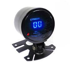 Universal 52mm Digital Led Manómetro de aceite de 0 a 10 bar de presión
