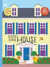 Sticker Stencil House (Hardback or Cased Book)