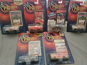 Lot Of 6 Dale Earnhardt 1:64 Cars ~ Winners Circle ~ Wrangler ~ Pink Ford ~ More